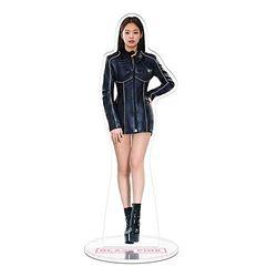 Schwarzrosa Acryl Spielzeug doppelseitiger Fotoständer Schreibtisch Dekoration Geschenke für Blink (Jennie 1)