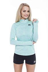 FA WEAR Lange mouwen Run Sweatshirt, Blauw, L