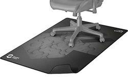 Speedlink GROUNID Floorpad-Bodenschutz, Gaming-Stuhl-Unterlage, Anti-Rutsch, schwarz, 120 x 100 cm