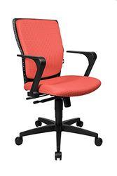 Topstar SP50RBU1 bureaustoel High Point, 55 x 47 x 101, caral-rood
