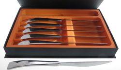 LEBRUN 21199050601 Box mit 6 Steakmessern, Edelstahl