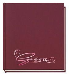 Veloflex gastenboek Classic bordeauxrood