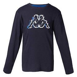 Kappa Billy T-Shirt für Kinder Einheitsgröße Weiß/Schwarz