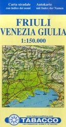 Straßenkarte Friuli Venezia Giulia: Straßenkarte Tabacco. 1:150000