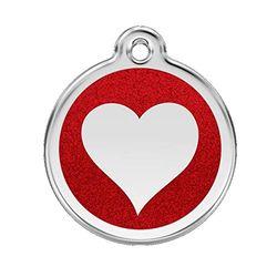Red Dingo GmbH 9330725044623 Placa Identificación, S, Rojo