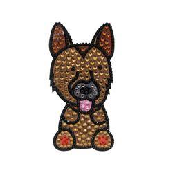 FouFou Dog 92971 cadeausticker strass German Shepherd