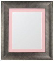 FRAMES BY POST Marco para Foto, plástico, Gris, 50 x 70 cm for Image Size A2 (Plastic Glass)
