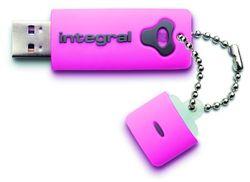 INTEGRAL 8 GB USB-stick Splash pink