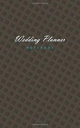 Wedding Planner - Notebook: (Chocolate Edition) Fun notebook 96 gerold/gelinieerde pagina's (5x8 inch/12,7x20,3 cm/Junior Legal Pad / Nearly A5)