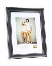 Fotolijst maat (foto): 50 cm H X 40 cm B, kleur: Schbarz