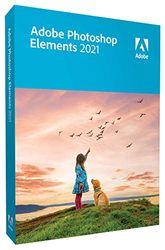 Adobe Photoshop Elements 2021, Box Versie, 1 Gebruiker, Win/Mac, Engelstalige Versie