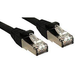Cat.6 SSTP/S/FTP PIMF Premium patchkabel, halogeenvrij, zwart, 20m