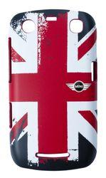 Mini - Union Jack Rubber Hard Case voor Samsung Galaxy S2, BlackBerry 8520/9300, BlackBerry 8520/9300
