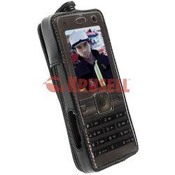 Krusell lederen tas Classic met multiadapter voor Sony Ericsson K770i