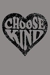 Choose Kind Distressed Heart Anti Bullying Unity Day: Notebook Planner - 6x9 inch Daily Planner Journal, To Do List Notebook, Daily Organizer, 114 Pages