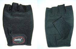 Body Coach Gewichthefhandschoenen, zwart, 10x16x1cm