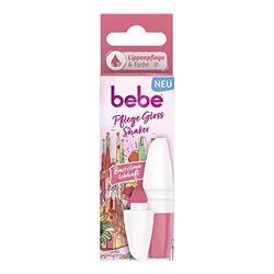 bebe Pflege Gloss Shaker Barcelona lebhaft Lippenpflege, Lippenpflegestift mit einem frischen Pinkton für natürlich schöne und geschmeidige Lippen (1 x 5 ml)