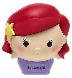Markwins Lip Smacker Tsum Tsum in Ariel Form - Lippenpflegestift mit fruchtigem Grapefruit Geschmack