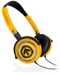 Aerial7 01-1800-00 Matador Hazard on-ear hoofdtelefoon met microfoon geel/zwart