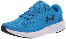 Under Armour Unisex Kid's Grade School Charged Pursuit 2 Road Running Shoe, Blue Circuit/White/White (405), 3 UK