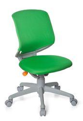 hjh OFFICE 712030 Kinder-Schreibtischstuhl Kid Move Grey Netzstoff Grün/Grau Drehstuhl ergonomisch, Rückenlehne verstellbar