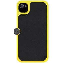 Ozaki O! Foto Gear Plastic Case met verstelbare statief sleuf en riem voor iPhone 4 / 4S