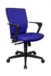 Topstar SP50RBU8 bureaustoel High Point, 55 x 47 x 101, ultramarijnblauw