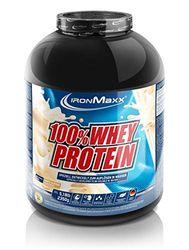 IronMaxx Ironmaxx Sabor Almendra Blanca 100% Polvo Proteína De Suero 2.35 Kg En Lata 2350 g