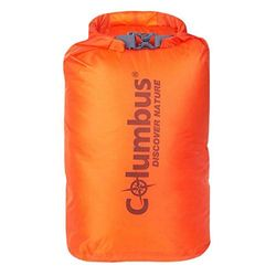 COLUMBUS Ultralight Dry Sack - ULD 8lt Cordura Wasserdichter Beutel, Orange (Orange), 8 l