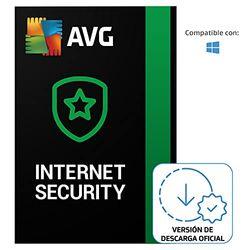 AVG Internet Security - Protección antivirus   1 Dispositivo   1 Año   PC   Código de activación PC enviado por email