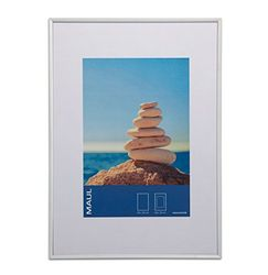 MAUL Marco de Fotos, Aluminio, Plata, 21 x 30 cm