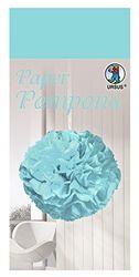 Paper Pompons, zijdepapier, 50 x 70 cm, 10 vellen in de kleur lichtblauw