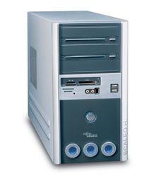 Fujitsu Scaleo Hid Desktop PC (Intel Pentium D 3,0 GHz, 1GB RAM, 250GB HDD, DVD+-RW DL, NV6600, XP Media Center)