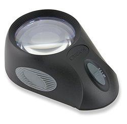 Carson LumiLoupe Ultra Lupa 5X de Sobremesa con Luz LED