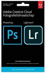 Adobe Creative Cloud Fotografielidmaatschap 20 GB - 1 Jaar - PC/Mac - Key Card & Download|Standard - 1 Device - PC/Mac/Android/IOS