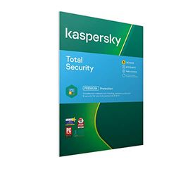Kaspersky Total Security 2020   5 Devices   2 Years   Antivirus, Secure VPN and Password Manager Included   PC/Mac/Android   Activation Code by Post 5 Devices 2 Years 5 2 Years PC Download