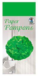 Paper Pompons, zijdepapier, 50 x 70 cm, 10 vellen in de kleur gifgroen