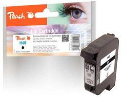 Peach Druckkopf schwarz kompatibel zu Xerox, HP No. 40, 51640AE