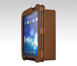 iCU Folio voor Samsung Galaxy Tab bruin