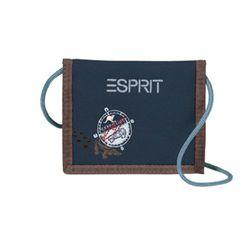 Young ESSB 195001 B PRI Esprit Wallet, Blue Expeditie, ca. 11 x 2 x 13 cm.