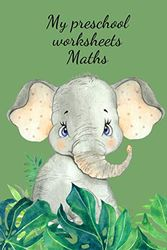 My preschool worksheets Maths