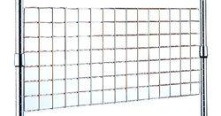 ARCHIMEDE VS60 – 35 Panel Rejilla, Metal, Cromado, 60 x 2.5 x 35 cm