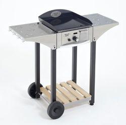 Roller Gril R.CHPS400 Serveerwagen voor Plancha 400, roestvrij staal/hout