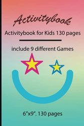 Activitybook: Activitybook for Kids 130 pages, include 9 different Games by Simple Live 1180