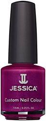 Jessica Custom, Laca de uñas, color de sombras moradas