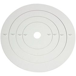 PME CM380 taartmarkerer, assortiment, 4-delig, kunststof, wit, 7 x 5 x 15 cm