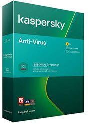 Kaspersky Anti-Virus 2021   1 Apparaat   1 Jaar   PC   Activeringscode per Post