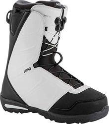 Nitro Snowboards Herren Vagabond TLS '19 Snowboardschuhe, Black/White, 25.0