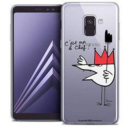 Beschermhoes voor Samsung Galaxy A8 2018, ultradun, motief: Shadoks Le Chef