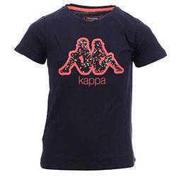 Kappa Mädchen Bibi Unterhemd, schwarz/rot, 12Y